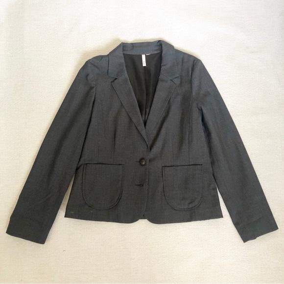 Frenchi Jackets & Blazers - Frenchi Grey Blazer